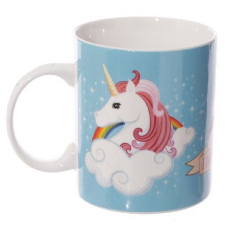 Bone China | I Don't Believe in Humans Unicorn Mug